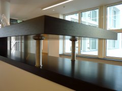 Empfangstresen Büro Neuer Wall in Hamburg