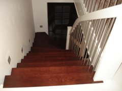 Treppe im Privathaus
